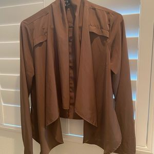 Forever 21 XX1 Women's Brown Blazer Jacket M
